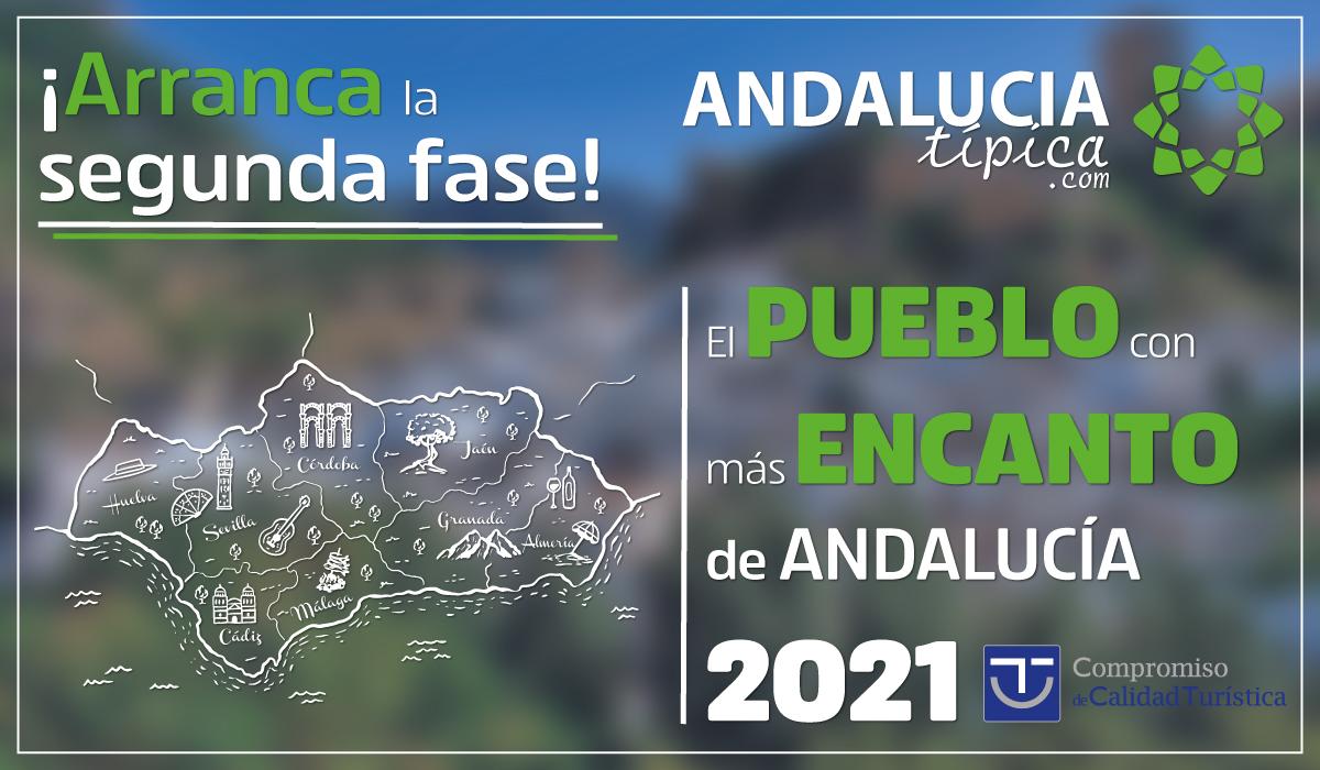 ¡Participa para elegir los 10 finalistas del Concurso 'El pueblo con más encanto de Andalucía 2021'!