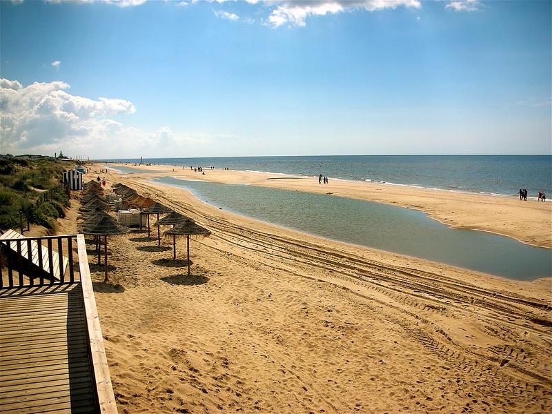 Playa de Islantilla en Huelva