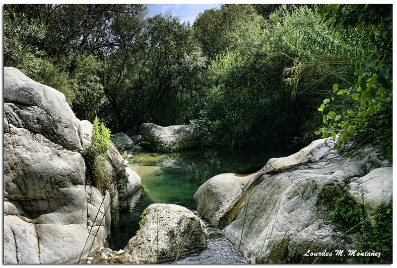 Ruta acuática y senderismo en Barranco Blanco, Málaga
