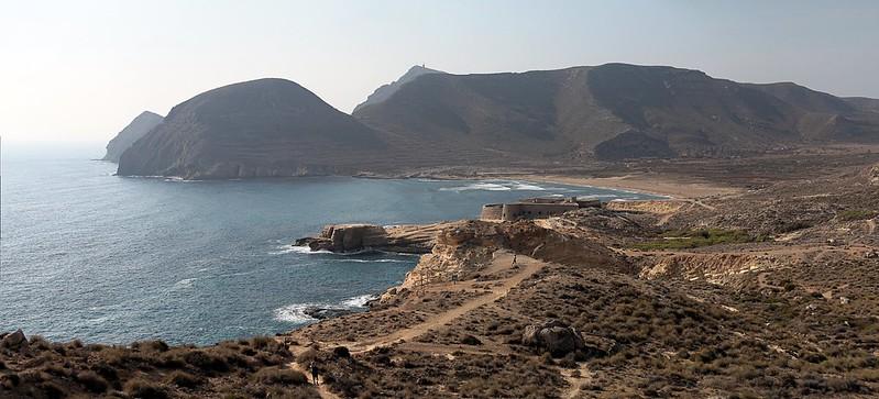 Playa de El Playazo en Cabo de Gata