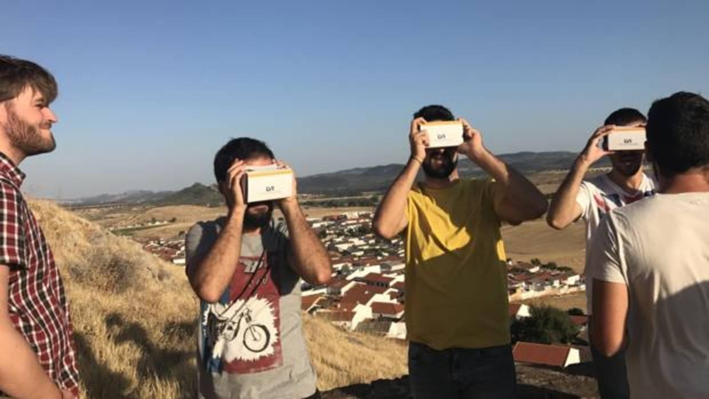 Mirador virtual del castillo de Belmez