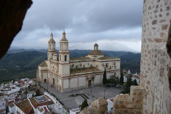 Iglesia de Ntra. Sra. de la Encarnación desde el Castillo